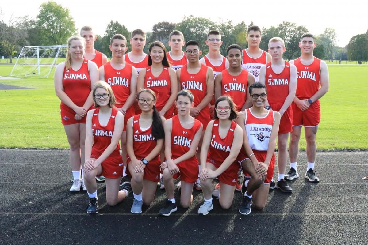St. John's Northwestern Academies 2019 Boys and Girls Cross Country team