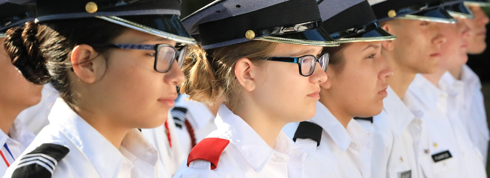 Military Academy Students